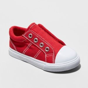 Toddler Boys' Dwayne Cap Top Sneakers - Red